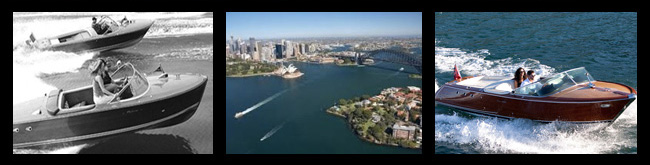 La Dolce Vita speedboat in Sydney Harbour