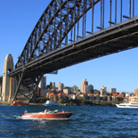 VIP cruise under Harbour Bridge